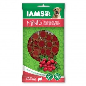 IAMS Mini Snacks para perro con Cordero y Arándano rojo