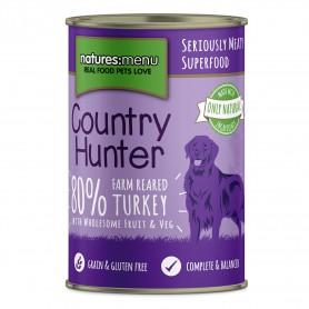 NM Country Hunter Latas Perro Pavo