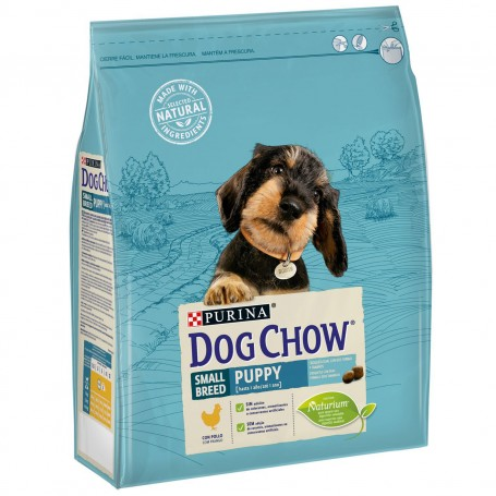 Pienso Purina Dog Chow Cachorro Raza Pequeña con Pollo
