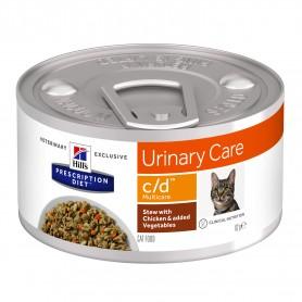 Hill's Prescription Diet Feline c/d Multicare Estofado con Pollo y Verduras