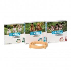 Kiltix, collar antiparasitario para perros.
