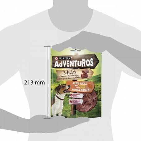 Purina Adventuros Ministicks, golosinas crujientes para perros