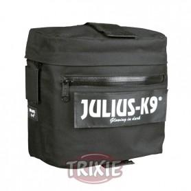 2 Alforjas Julius-K9, nylon, p/ref. 1506 Negro