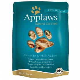 Applaws Cat Pouch atún y anchoas