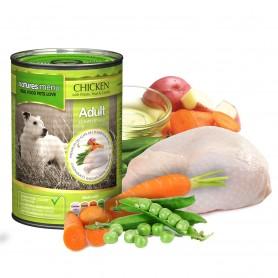 Natrures menu lata perro pollo