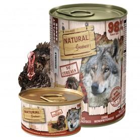 Natural Greatness Receta Pavo perro (lata)