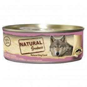 Natural Greatness Filete de Atún con Gambas perro (lata)