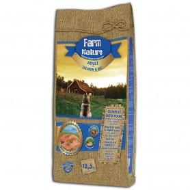 Farm Nature salmón y arroz perro