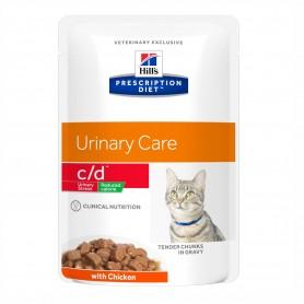 Hill's Prescription Diet Feline c/d Urinary Stress Reduced Calorie...