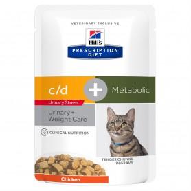 Hill's Prescription Diet Feline c/d Urinary Stress + Metabolic...