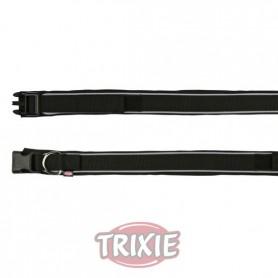 Collar Premium acolch. neopreno,M,35-40cm,30mm,Neg
