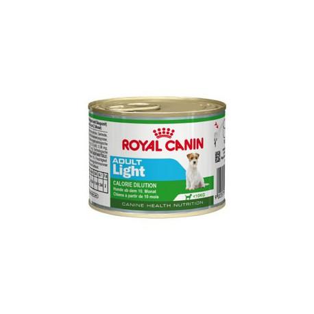 Royal Canin Health Nutrition Húmedo Mini Adult Light, comida húmeda para perros
