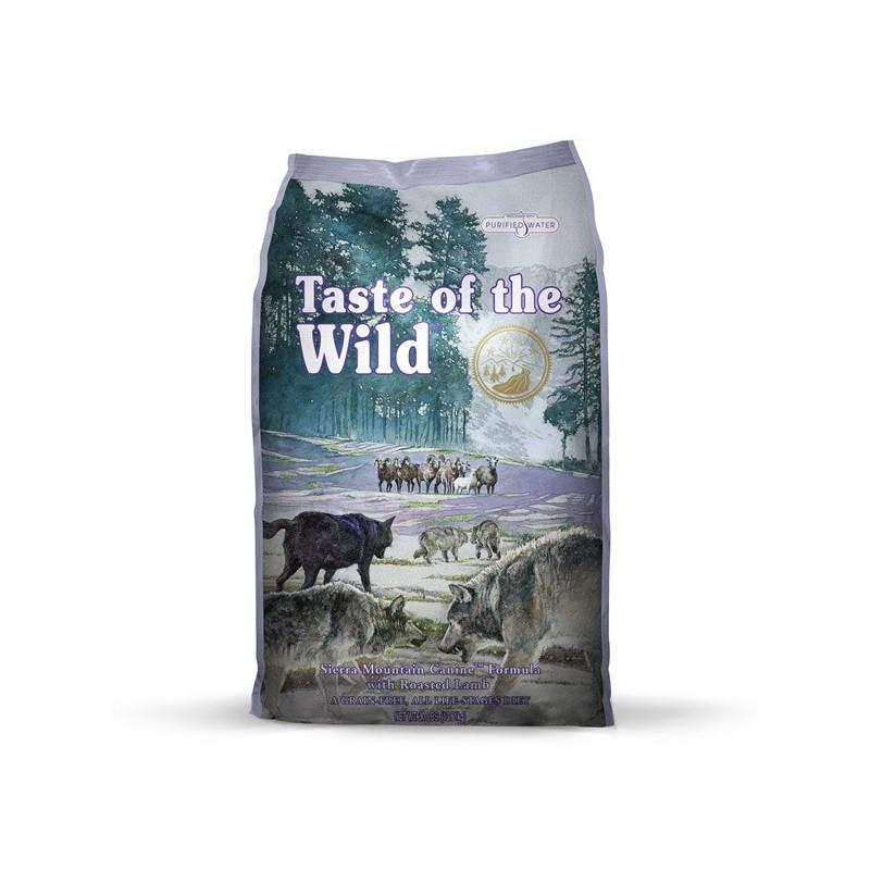 Taste of the Wild Sierra Mountain, pienso para perros en Piensoymascotas.com