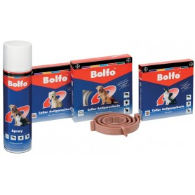 Spray antiparasitario. Bolfo para pulgas y garrapatas