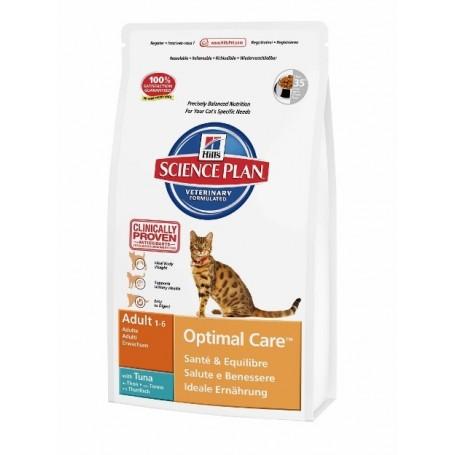Hills Science Plan Feline Adult Optimal Care Atún
