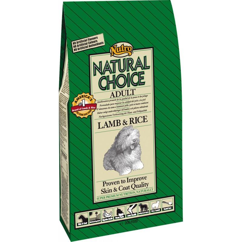 Nutro Natural Choice Adult Lamb & Rice