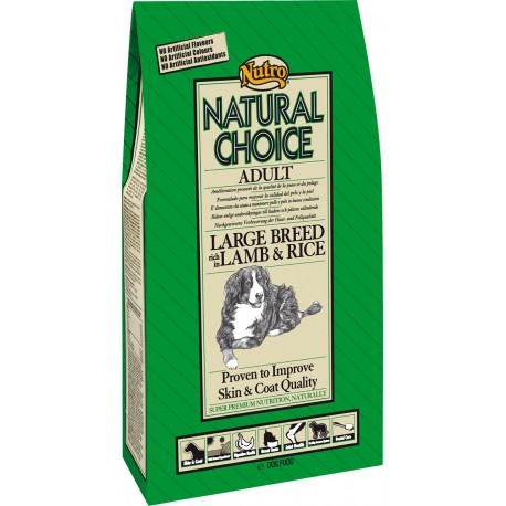 Nutro Natural Choice Large Breed Lamb & Rice Adult