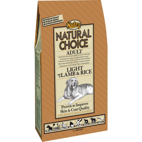 Nutro Natural Choice Adult Light Lamb & Rice