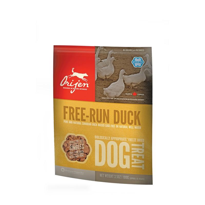 Orijen Treats Brome Lake Duck (Premios Naturales), Snacks para perros, golosinas naturales