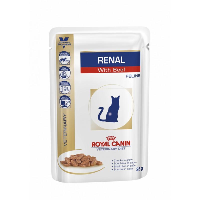 Royal Canin Veterinary Diet Renal (Buey)