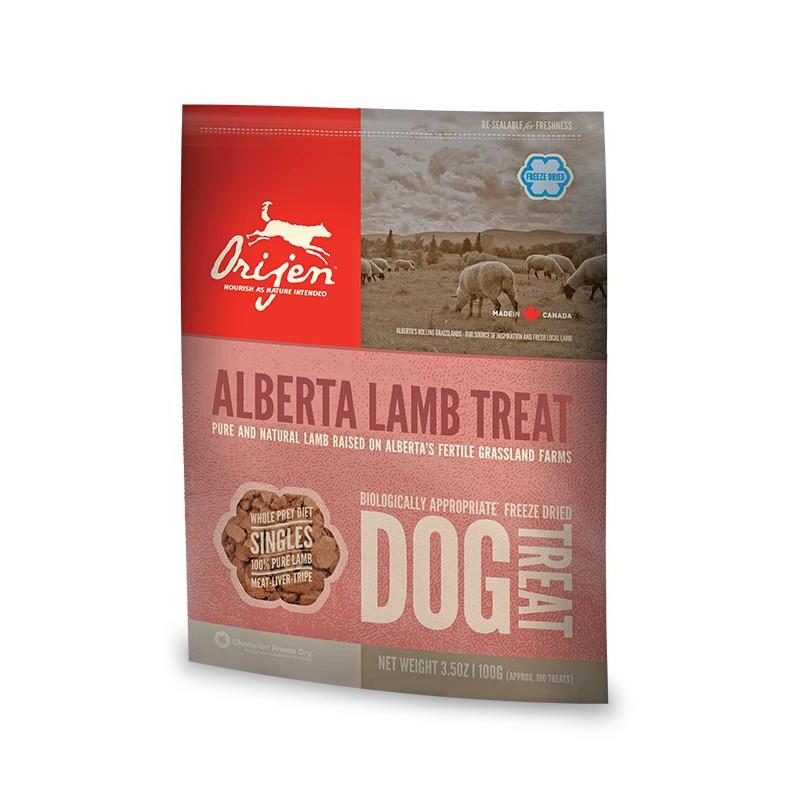 Orijen Treats Alberta Lamb (Snacks Naturales)