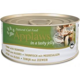 comida húmeda para gatos Applaws Cat Jelly lata atún y alga