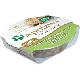 comida húmeda para gatos Applaws Cat Tasty pollo y arroz