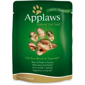 Applaws Cat Pouch pollo y espárragos