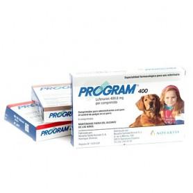 Program comprimido oral antiparasitario para perros