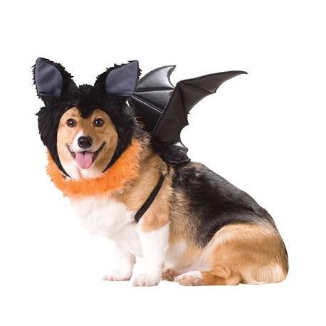 Disfraz de murciélago parra perro