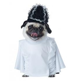 Disfraz de novia de frankenperro