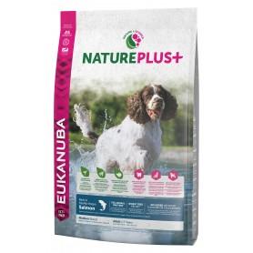 Eukanuba Nature Plus+ Adult Medium Breed Salmón