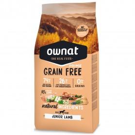 Ownat Grain Free Prime Junior Lamb Dog