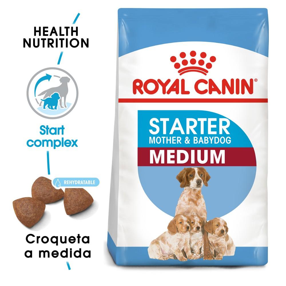 Pienso Royal Canin Medium Starter para perros