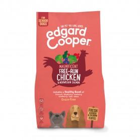 Edgard & Cooper, pienso sin cereales con pollo y salmón frescos...