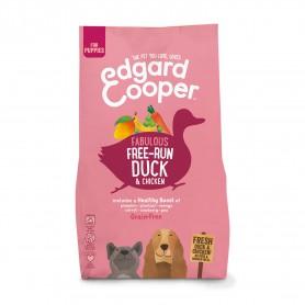 Edgard & Cooper, pienso sin cereales con pato y pollo frescos para...