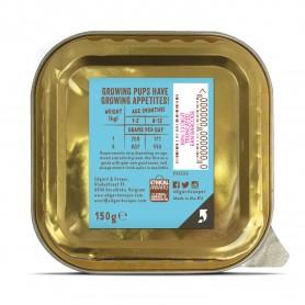 Edgard & Cooper, pack 17 tarrinas sin gluten con pollo ecológico y pescado para cachorros