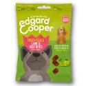 Edgard & Cooper, snacks sin cereales con cordero, vacuno, pera y manzana