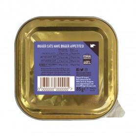 Edgard & Cooper, tarrinas sin cereales con vacuno y pato para gatos...