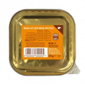 Edgard & Cooper, pack 19 tarrinas sin cereales con pavo y gambas...