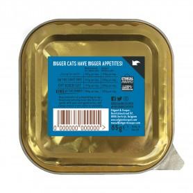 Edgard & Cooper, pack 19 tarrinas sin cereales con pollo y salmón para gatos senior
