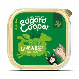 Edgard & Cooper, tarrinas sin cereales con vacuno y ternera...