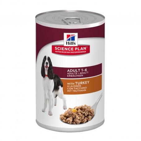 Hill's Science Plan Adult con Pavo, comida húmeda para perros