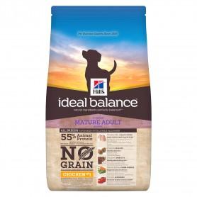 Hill's Ideal Balance Mature Adult No Grain con Pollo y Patata, pienso para perros naturales