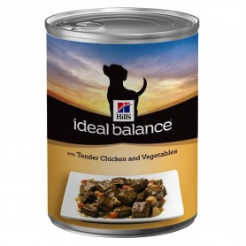 comida húmeda para perros Hill's Ideal Balance pollo y verduras (Lata)