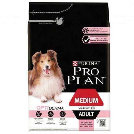 Pienso Purina Pro Plan Medium Adult Sensitive Skin para perros adultos